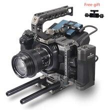 TILTA BMPCC 4K كاميرا قفص/حالة Blackmagic سينما الجيب 4K TA-T01-A-G Tilta رمادي ل Blackmagic سينما كاميرا