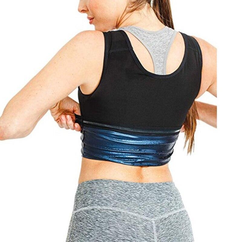 Новинка 2020, популярный женский корректор пота для сжигания жира, жилет для фитнеса и сауны, майка для тренажерного зала, рубашки, костюм для ...