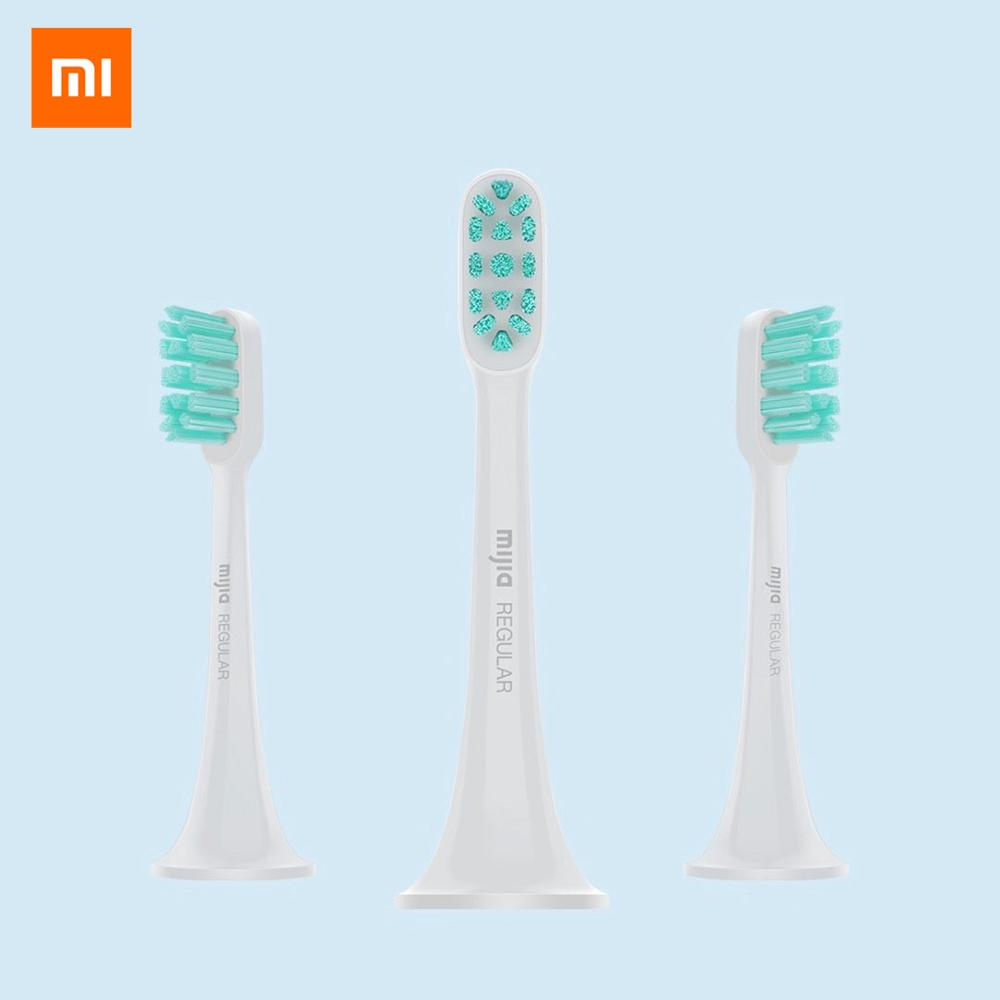 Original XIAOMI MIJIA Sonic Electric Toothbrush Heads 3PCS Smart Toothbrush DuPont Brush Head Mini Mi Clean Sonic Oral Hygiene