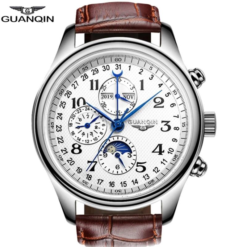 Masculino Automatic Sapphire Guanqin Watch