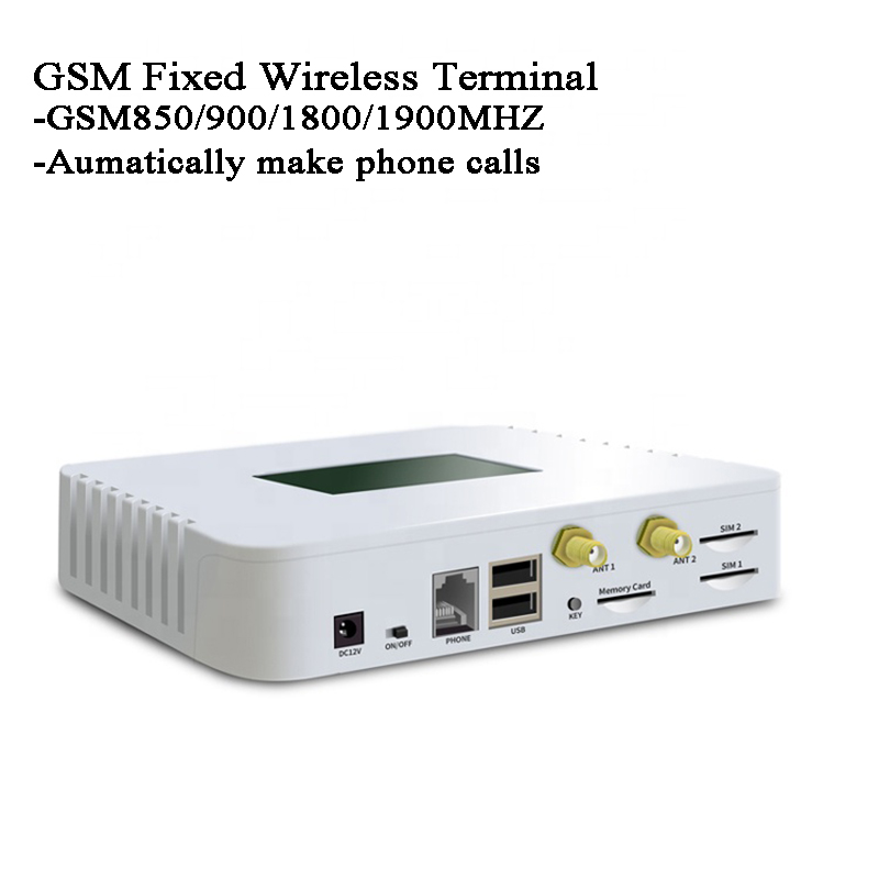 GSM Module GSM Fixed Wireless Terminal Automatic Call Phone IVR Recording Telemarketing Landline Phone