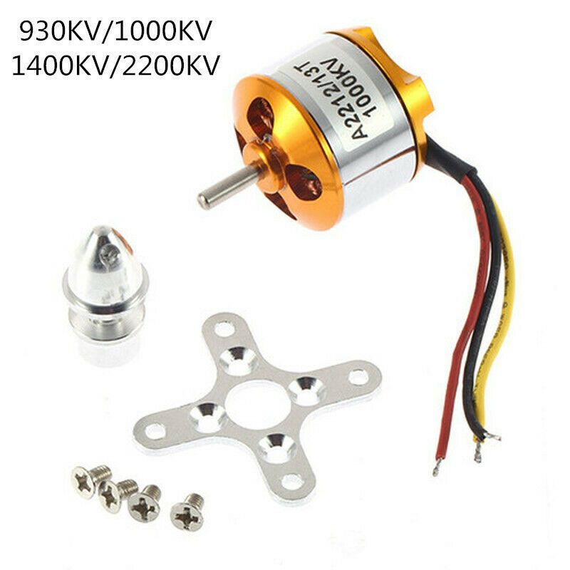 XXD A2212 Brushless Motor 930KV 1000KV 1400KV 2200KV For DIY Model RC Aircraft Multicopter Quadcopter