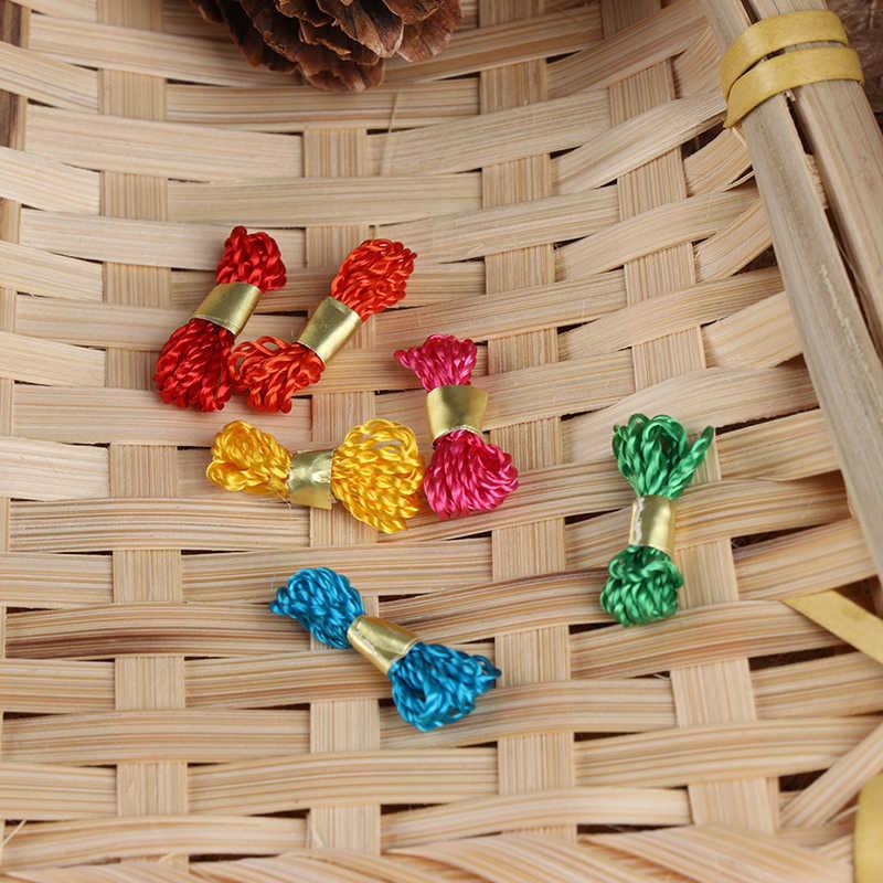 Puppenhaus Slim Baumwolle Spulen Spulen Von Gewinde Nähen Zimmer Zubehör