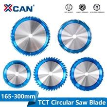 XCAN 1pc 165-300mm TCT Saw Blade Nano Blue Coating Circular Saw Blade Woodworking Cutting Discs Carbide Tipped Saw Blade