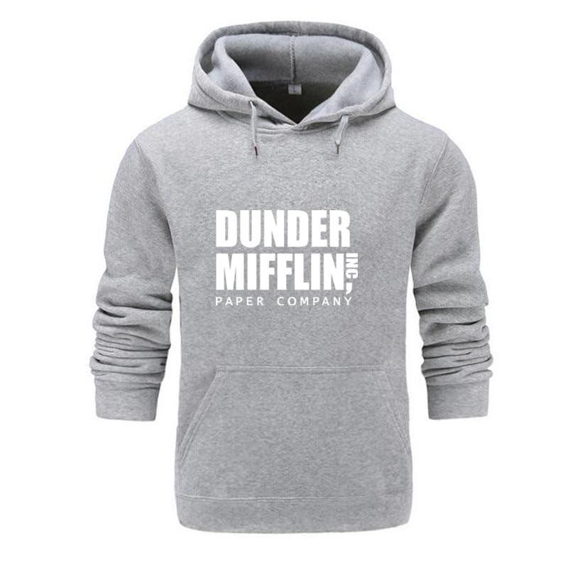 The Office TV Show Dunder Mifflin Paper Streetwear Men Women Sweatshirts Dropshipping New 2019 Hot Selling Hoodies