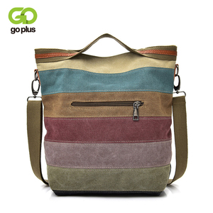Image 1 - GOPLUS NewCrossbody Bags for Women 2020 Canvas Handbag Womens Shoulder Bag feminina sac a main femme bolso mujer torebka damska