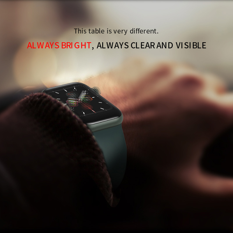 Купить с кэшбэком 2020 Vwar IWO 13 Series 5 IWO13 Always on Display Smart Watch 44mm Case For Apple IOS Android Phone Heart Rate PK IWO 12 11 8