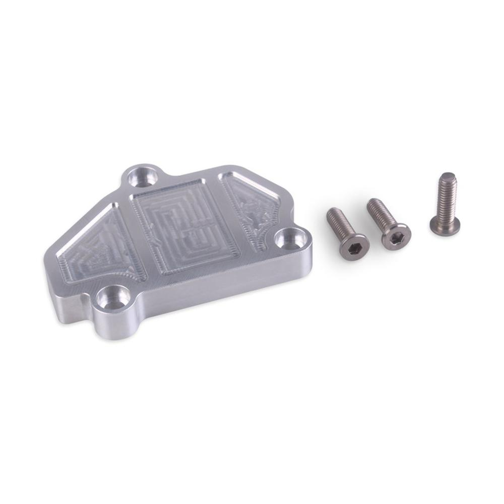 High Quality 6061 Aluminum Baffle Racing Billet B series Block off Plate for Honda for Acura Car Set Raw Silver|Valves & Parts| |  - title=