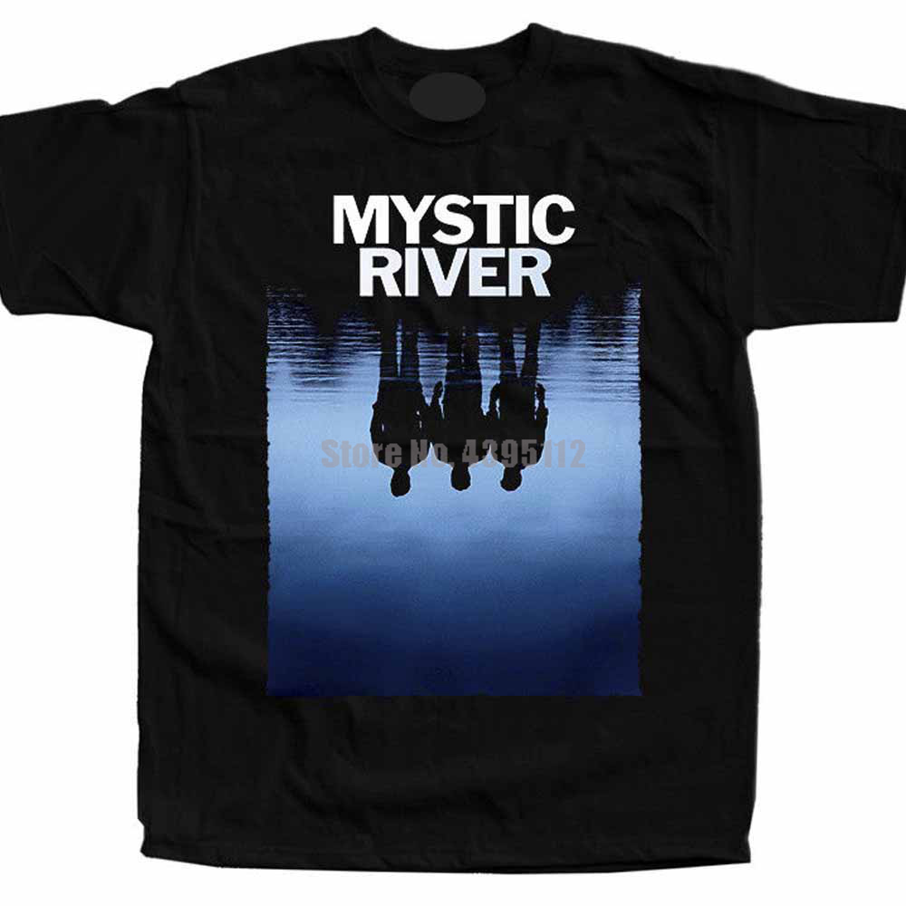 Mystic River Movie Poster <font><b>Sean</b></font> Penn Homme Tshirts Fashion Harajuku <font><b>T</b></font> <font><b>Shirt</b></font> Homme 2019 Tee <font><b>Shirt</b></font> O Neck image