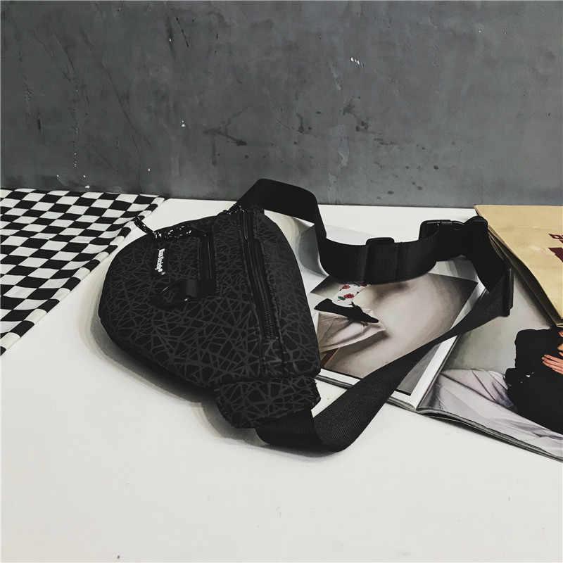 Heuptasjes dames argent ceinture téléphone portable taille sac pour homme sport fanny pack monederos para mujer bolsa hip hop sacos de homen