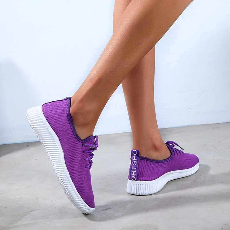 Donna Traspirante Runningg Scarpe Antiscivolo Sport Femminile scarpe Da Tennis Delle Donne Calzature Outdoor 2019 Mesh Leggero Runningg Scarpe