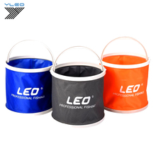 YLEO Portable Folding Bucket Collapsible Multifunctional Outdoor Basin for Camping Hiking Travelling Fishing