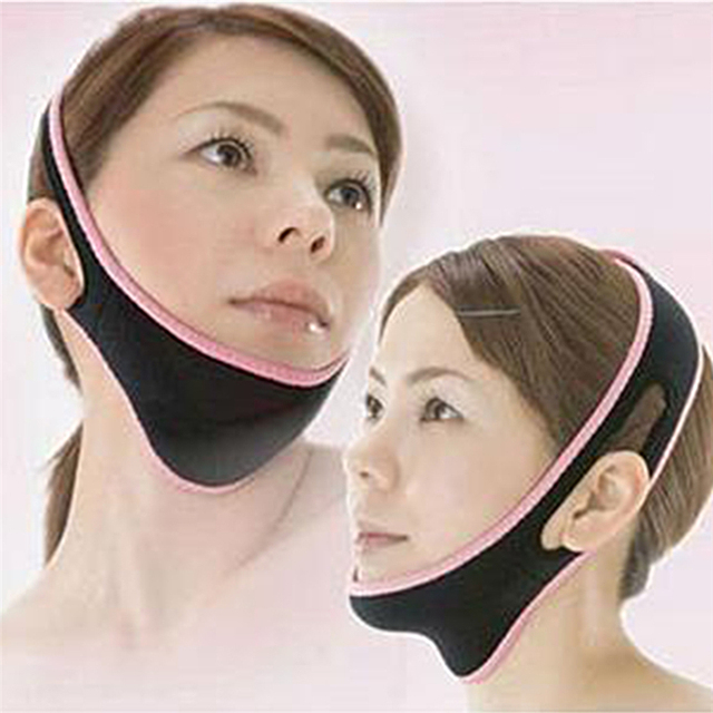 1Pcs Powerful 3D Face-lift Device Facial Thin-Face Bandages V-Face Correction Sleeping Face Shaper Face Slimmer Beauty Tool 5