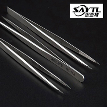 Tweezers Phone-Repair Industrial-Steel Soldering Precision for Smd Edge Fingerprint Fly-Line