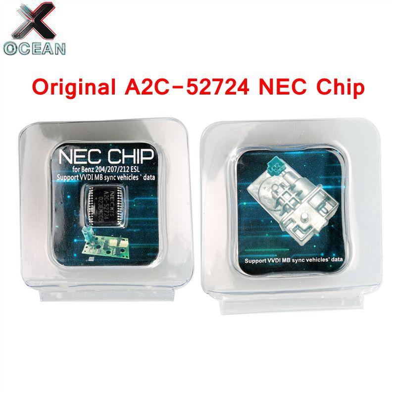 2019 Transponder A2C 45770 A2C 52724 NEC Chips for Benz W204 207 212 for ESL ELV