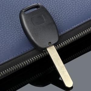 Image 5 - 2 tasten Auto Repalcement Key Keyless Entry Remote Key Fob Shell Fall Uncut Klinge Für HONDA Accord Civic Fit Pilot CR V