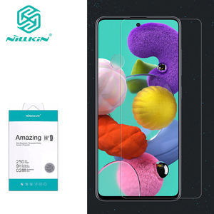 Image 1 - For Samsung Galaxy A51 Glass Nillkin Amazing H/H+Pro Anti Explosion 9H Tempered Glass phone Screen Protector For Samsung A51