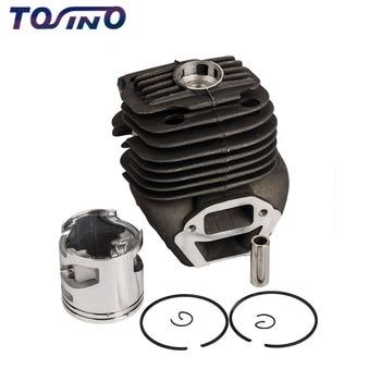 1 sets Cylinder Piston Kit For HUSQVARNA K750 K760  Chainsaw Engine 51MM Cylinder Assy sets