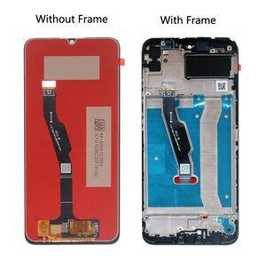 Image 2 - الأصلي LCD لهواوي الشرف 9A LCD شاشة تعمل باللمس الجمعية ل الشرف 9A MOA LX9N LCD التمتع 10E LCD عرض مع الإطار
