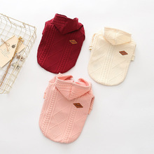 Pet-Dog-Clothes Overalls Dogs-Supplies Pets Small Medium for Dog-Pet Pets-Products Knitted