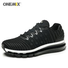 2021 nowych mężczyzna buty do biegania s poduszka powietrzna Sneaker buty do biegania mężczyźni oddychające Runner męskie buty sportowe trampki dla mężczyzn Size39-47 tanie tanio onemix CN (pochodzenie) LIFESTYLE Stabilność Odkryty lawn Zaawansowane Dla dorosłych Masaż RUBBER Mesh Średnie (b m)