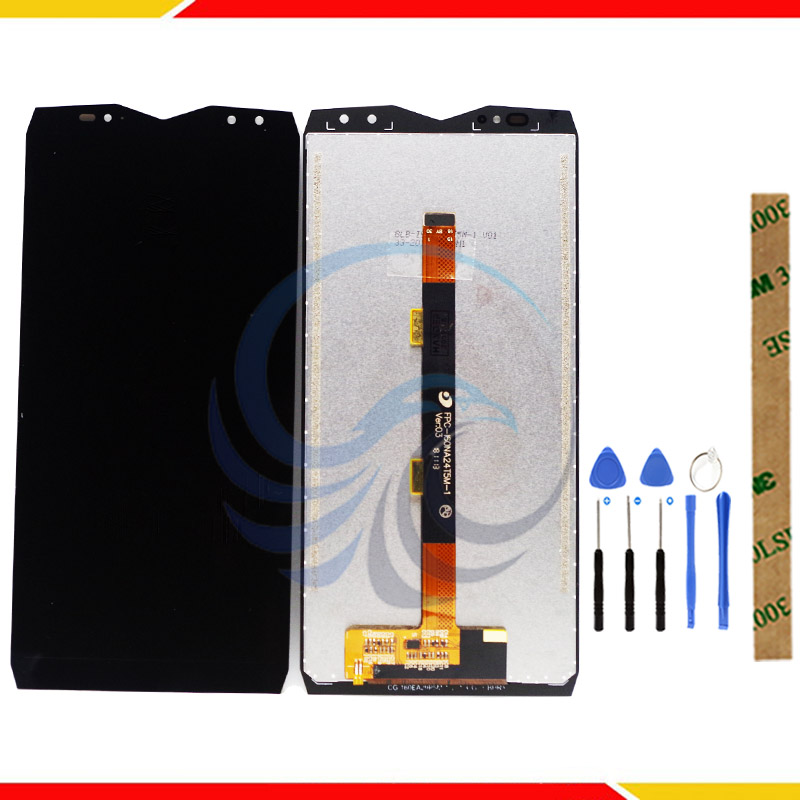 100% LCD Display Screen For Ulefone Power 5 LCD Display With Touch Screen Complete Assembly For Ulefone Power 5S LCD