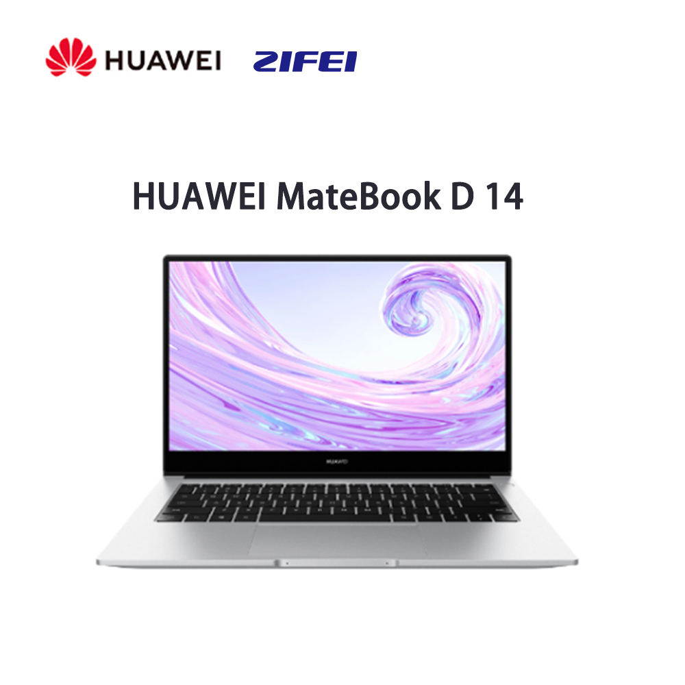 Ноутбук 2020 HUAWEI MateBook D 14 ноутбук с i7 или AMD Ryzen 5 3500U процессор 3,7 ГГц Скорость 16 Гб Ram 512 ГБ Win 10 Ноутбуки      АлиЭкспресс
