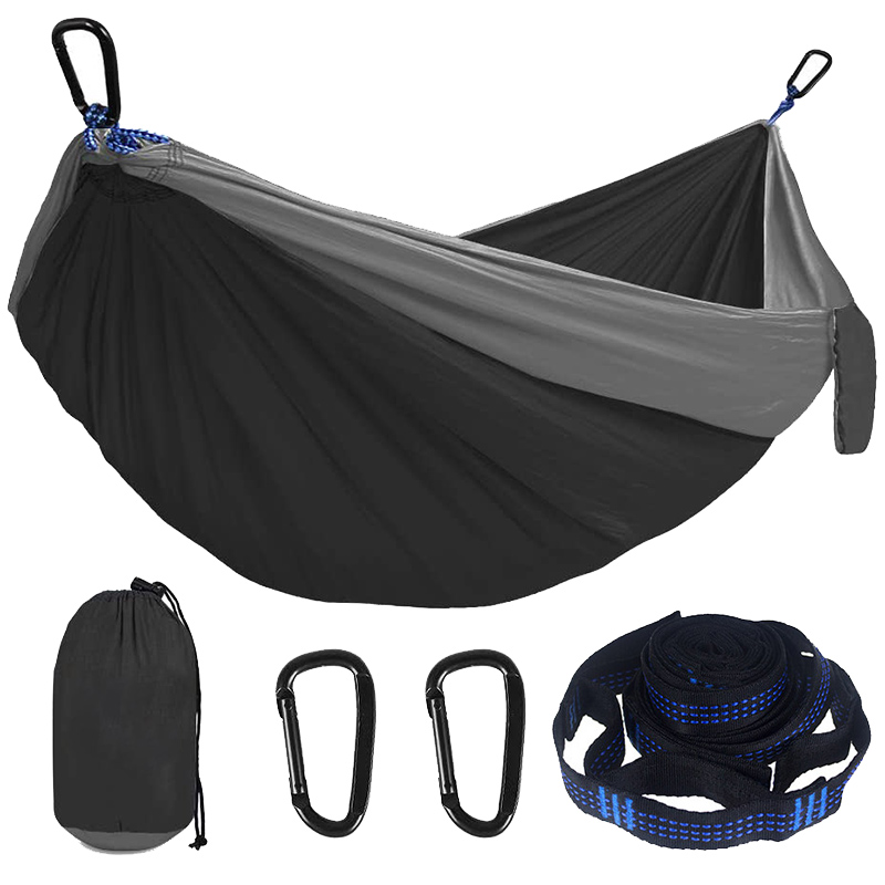 Camping Hammock Double Single Lightweight Hammock with Hanging Ropes for Backpacking Hiking Travel Beach Garden| | - AliExpress