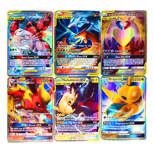 TAKARA TOMY Pokemon GX EX MEGA Trainer Shining Cards Not Repeating Game Battle Carte Trading Toys for Children Christmas Gifts