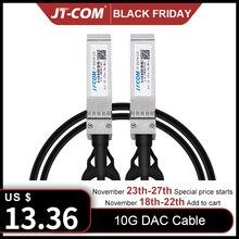 Câble Twinax 10 go SFP + DAC, passif, Compatible avec le SFP H10GB CU2M Cisco, lubiquiti, Intel, Mikrotik, Netgear, d link, 1m,2m,5m