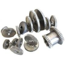17Pcs/Set Mini Lathe Gears , Metal Cutting Machine Gears , Lathe Gears free shipping s n cj0618 160 t45 mini lathe gears metal cutting machine gears lathe gears m1 12mm hole diameter