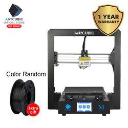 ANYCUBIC I3 Mega 3D Impresora Full Metal más tamaño Marco de escritorio 3,5 pulgadas TFT pantalla Impresora 3D Drucker DIY Kit gadget extrusora