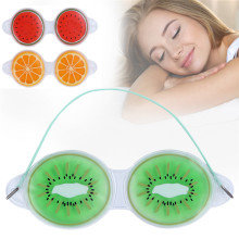 Красота лед повязка маска для глаза для устранения темных кругов улучшить качество сна лед гелиевая маска для глаз 3 стиль на выбор