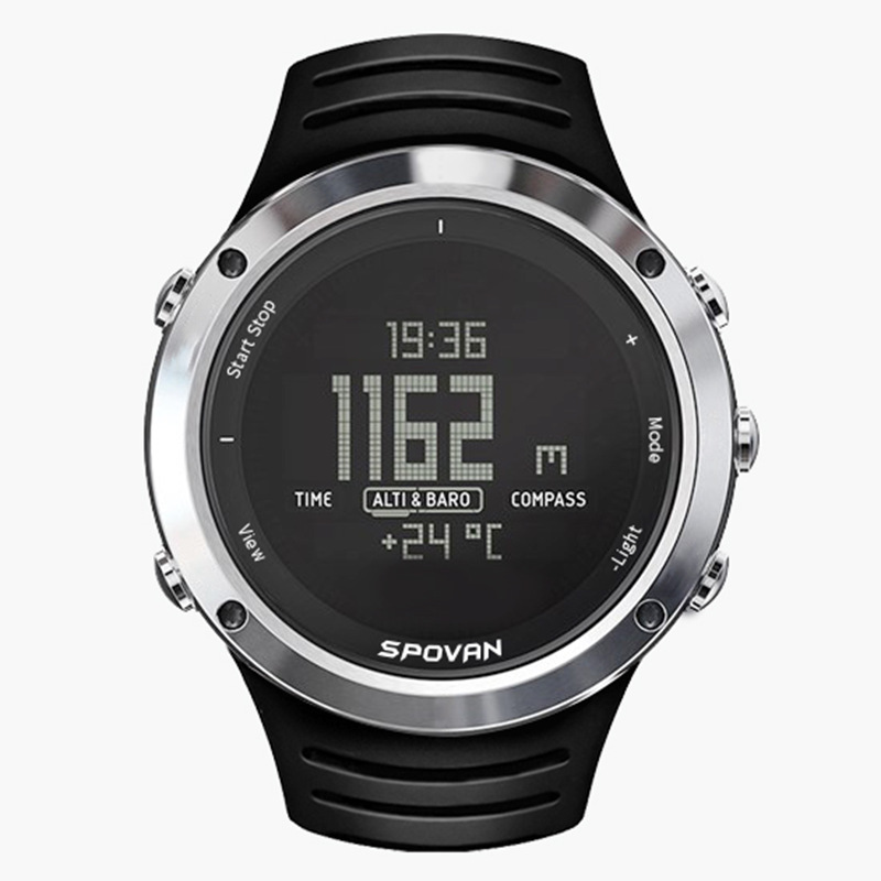 Intelligent Outdoor Sports Watch Spovan Multi-function Fashion Led Digital Watch Cross-border Smart Watch