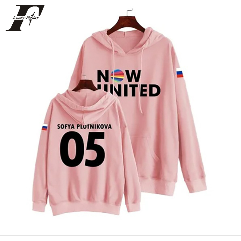 Now United Sabina Hidalgo 03 Hoodie Sweatshirts Trui Kpop Newtracksuit Streetwear Print Casual Mannen Vrouwen Printed Coat Tops 9