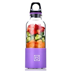 500ML przenośne elektryczne podręczna sokowirówka USB akumulator automatyczny warzywa owoce sokownica butelka sokowirówka mieszalnik