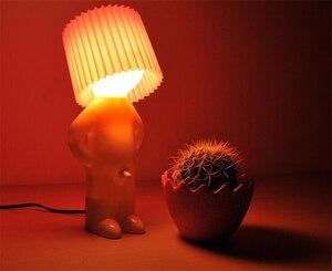 Image 4 - O rapaz naughty sr. p um pouco brilhante homem lâmpada criativa, luzes noturnas, lâmpada para mesa, decoração de casa, casal, presente agradável, festa, lembrancinha