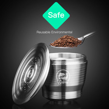 FILTER-CUP Refillable Coffee-Capsule Metal Stainless-Steel Illy-X-Y-Type Fit-For -G37