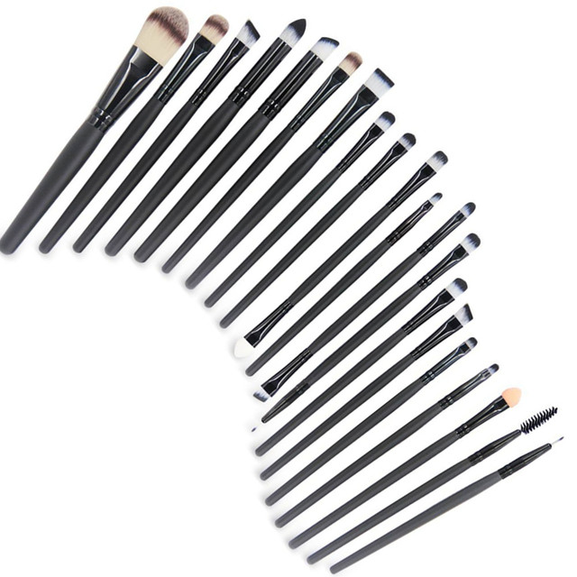 Hot Makeup Brushes Set 20/18/15/2Pcs Eye Shadow Foundation Powder Eyeliner Eyelash Lip Make Up Brush Cosmetic Beauty Tool Kit 3
