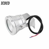 ICOCO 10W Unterwasser LED Flut Waschen Pool Wasserdichte Licht Spot Lampe 12V Außen Super Helle Aquarium Aquarium licht|Scheinwerfer|Licht & Beleuchtung -