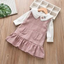 Kids Baby Girls Blouse Shirt Long Sleeve Clothes
