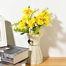 Daisy Flowers For Home Accessories Decoration Fake Artificial Wedding Bouquet