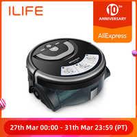ILIFE Nuovo W400 Piano Lavaggio Robot Shinebot di Navigazione Grande Serbatoio di Acqua Per La Pulizia della Cucina Previsto Percorso di Pulizia