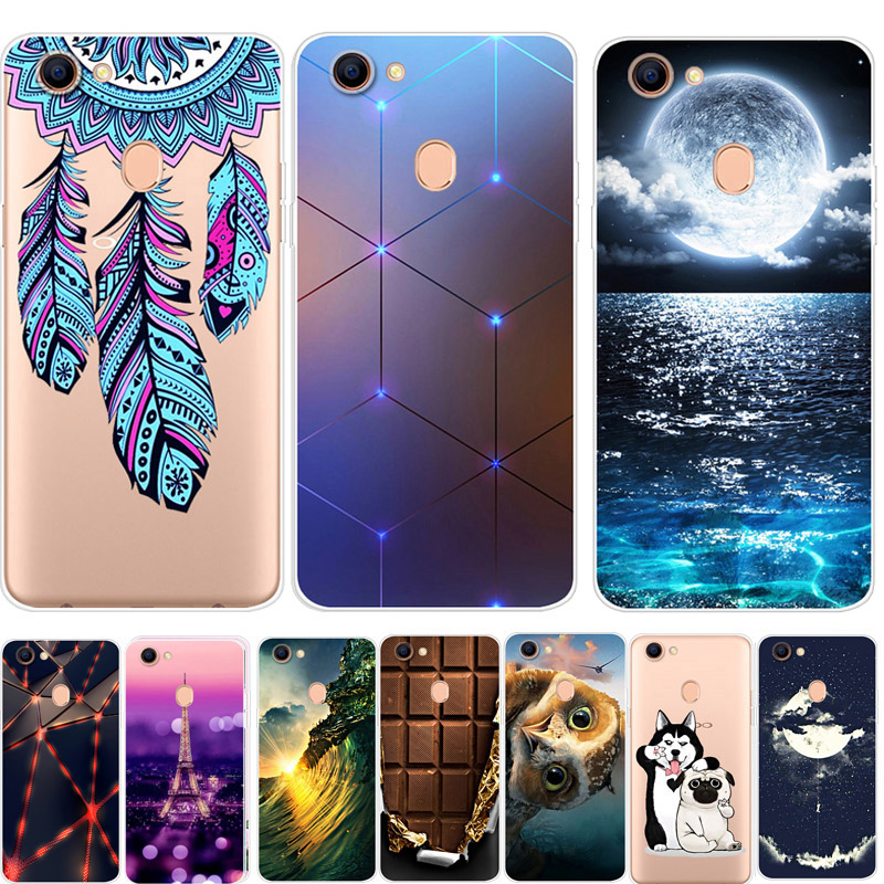 For <font><b>OPPO</b></font> F5 <font><b>Case</b></font> F11 Pro <font><b>Phone</b></font> Cover Soft Silicone Printing Back <font><b>Case</b></font> Coque For <font><b>OPPO</b></font> A73 <font><b>F1S</b></font> F9 F7 Pro Cover Shell image