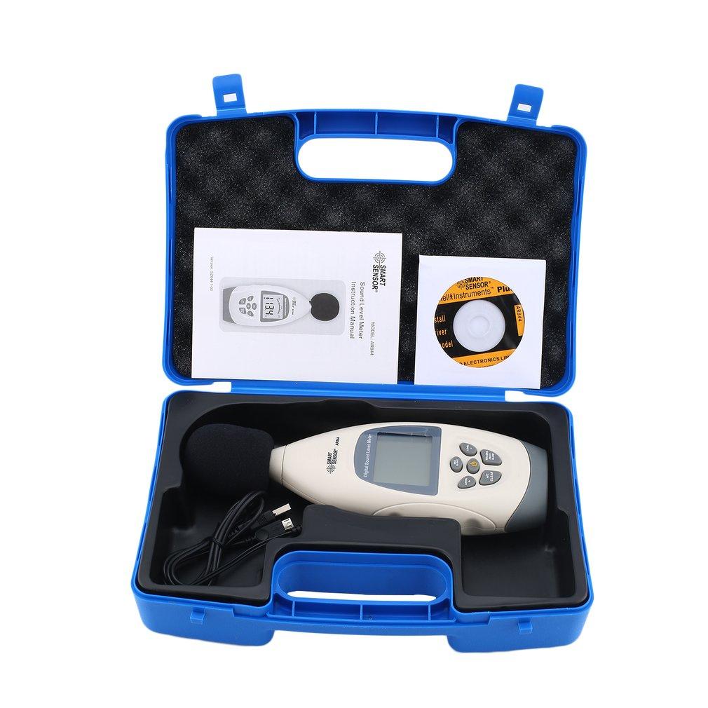 SMART SENSORAR844 Sound level meters Decibel meter logger Noise Audio detector Digital Diagnostic-tool Automotive 30~130db