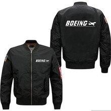 Новая осенне-зимняя мужская куртка-пилот, одежда, мужские пальто Boeing, куртки S-5XL, мужские куртки и пальто