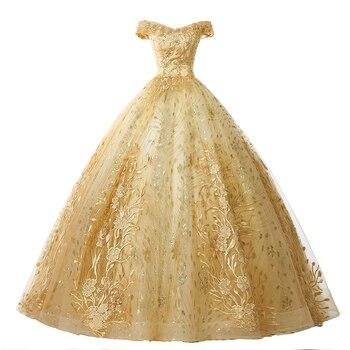 Quinceanera платье 2020 Gryffon платье для выпускного вечера роскошная аппликация Формальное бальное платье винтажное Quinceanera платье