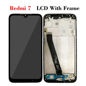 """Image 4 - LCD With Frame For Xiaomi Redmi 7 M1810F6LG Display Screen Touch Sensor Digitizer Assembly Replacement Redmi7 Full Display 6.26"""""""