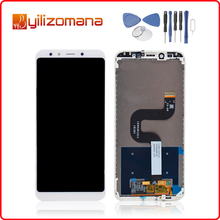 купить 5.99 For XIAOMI Mi A2 Display LCD Digitizer Touch Screen with Frame For XIAOMI A2 LCD Screen For Xiaomi Mi 6x LCD MiA2 недорого