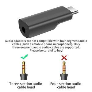 Image 5 - Typ C 3,5 MM Audio Adapter für Dji Osmo PocketAudio Adapter Aufnahme Adapter Externe Mikrofon Mic Audio Zubehör